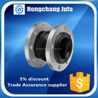 PN16 single sphere bellows expansion epdm flexible rubber pipe coupling