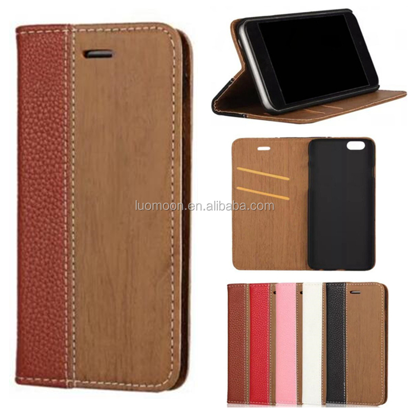 wood flip wallet leather cell mobile smart phone case cover for Doogee X5 F5 8 7 6 max pro dg 550 800 150 700 310 350 900 y 300