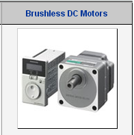 High quality ORIENTAL DC motor for Every machine made in Japan