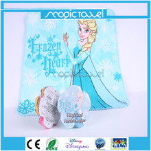 Promotional pure cotton compressed magic towel pressed washcloth/travel mini towel