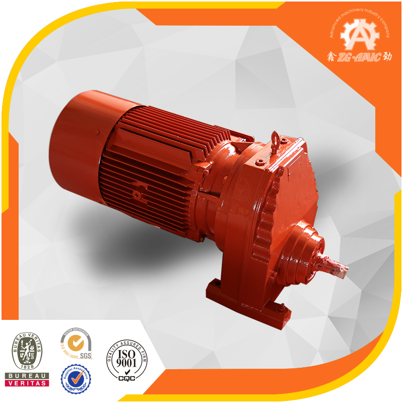 Quick response China XINJIN Transmission factory High speed single stage R series Agricultural helical gear reducer