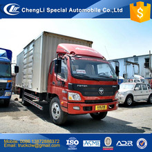 Good performance Foton Aumark Cargo Van Truck 4x2 3ton to 30 tons Heavy duty Goods delivery closed Van truck Competitive prices