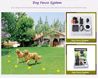 Wholesale invisible underground electric remote dog training fence DF-113R best wireless dog fence