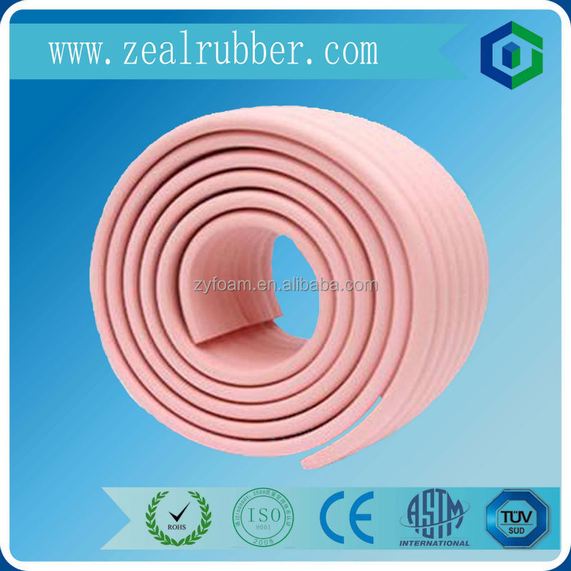 table edge guard rubber bumper foam sponge strip