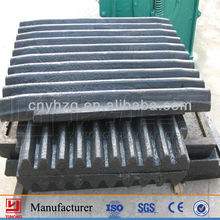 Manganese Wear-resistant Jaw Plate From the Best Quality Jaw Crusher Part