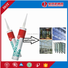 Free Sample Acetic Liquid Silicone Sealant Structural
