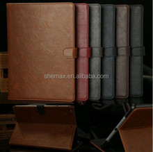 Cheap Phone Luxury Retro Leather Smart Case Cover for iPad 5 New