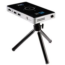 C6 LED android 5.1 Mini Smart Projector Amlogic S905 Quad Core 1gb 8gb H96p Projector