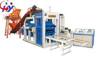 HY-QM4-12 interlocking brick block machine in botswana