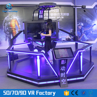Fitness Shooting Arcade Game Machine Vive