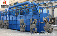 Annual Best Selling Overhead Conveyor Shot Blast Cleaning Machine