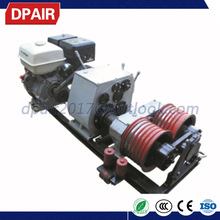 high quality Cable Drum Pulling Hoist Winch electric construction equipment