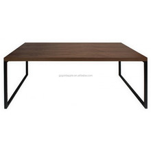 Modern solid wood dining table design, wood rustic dining table
