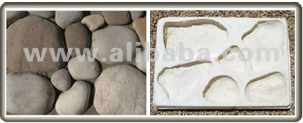 River Rock rubber molds to make stone veneer.