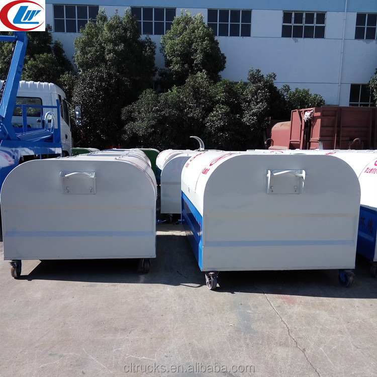 Factory direct large amount of supply Chengli 3m3 hook lift containers