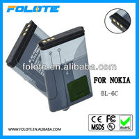 BL6C MOBILE PHONE BATTERY FOR NOKIA 112,N-Gage QD,E70,6230,6230I,N70,6630,6680