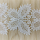 2018 New Design wholesale Embroidery Lace Trim, bobbin lace