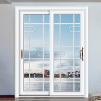Beautiful and fashional white door design sliding door for modern house decoration