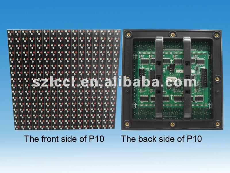Screen Outdoor LED Panels DIP P10 Digital Display