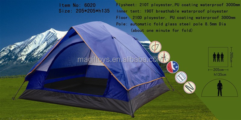 family tent/camping tent glass steel pole 8.5mm Dia
