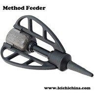 Stock available wholesale Long cast back lead carp fishing feeder