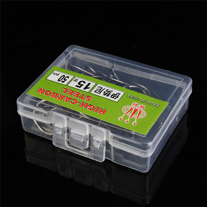 Sizes 1# -15# High Carbon Steel Fishing Hooks Pack With Box Best Fishing Hooks Fly Carp Hooks Fishing
