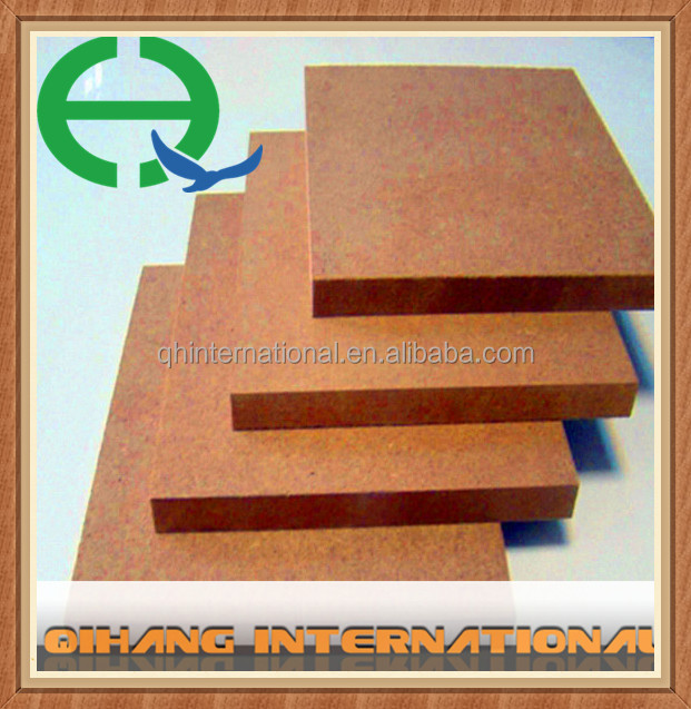 hot sale wood melamine mdf/fire rated mdf board