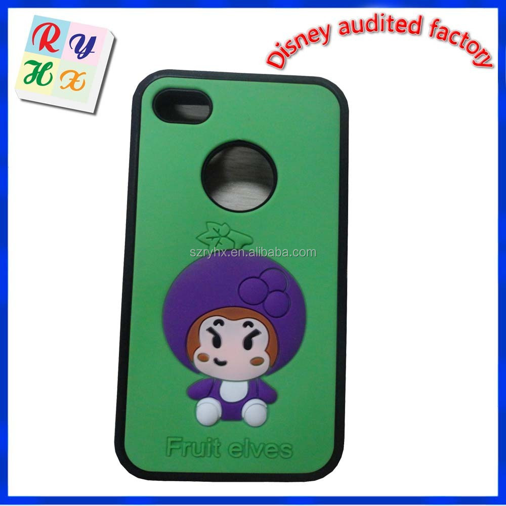 Hot cheap fruit elves wholesale china printable phone cover