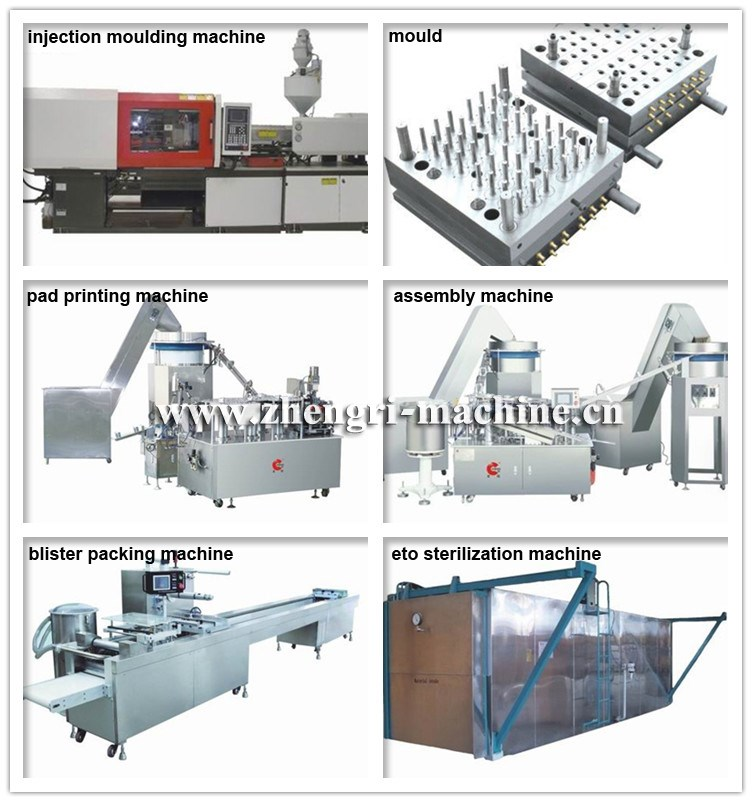 Plastic Syringe Making Machines With Packaging Line
