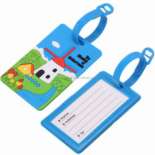 Netherlands Travel Custom Luggage Tags 3d Silicone Bag Tags
