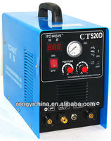 Shanghai Rongyi CT520D dual voltage 110v and 220v 3-in-1 Multi-function inverter Digital DC TIG/MMA/CUT welding device