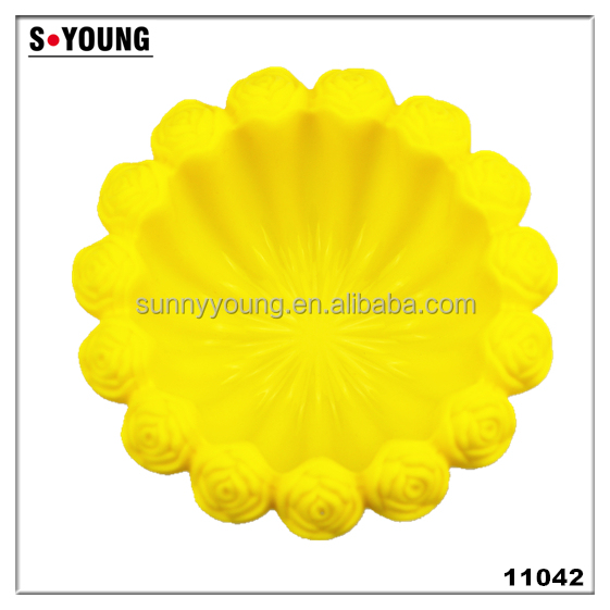 11042 Silicone baking tools,cake baking molds,flower silicone baking moulds
