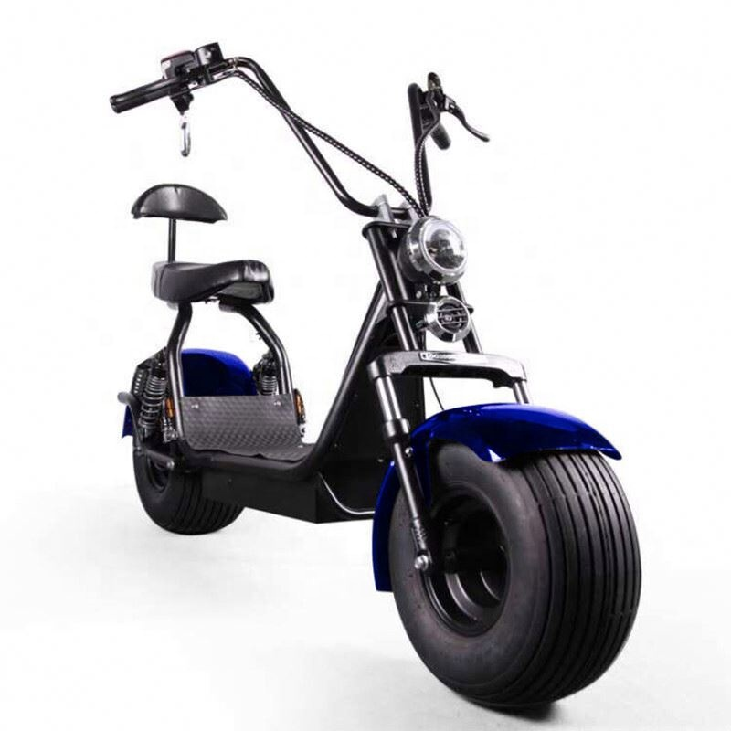 3 Wheels Double Front Fork Citycoco Electric Scooter Range 120Km