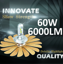 Auto Parts Led Hot Super White Aladdin LED Headlight C6 with Canbus h1 h4 h11 h13 60w 6000LM Led Headlight Bulbs