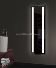 Popular design USA and European hotel electric bathroom LED full length mirror