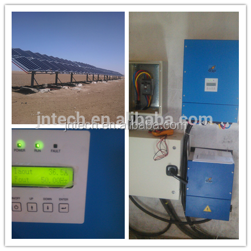 New Green <strong>Energy</strong> 24h Work JNTECH 22KW MPPT function solar water pump inverter for agriculture irrigation use