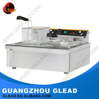 Industrial Stainless steel hot dog/donuts fryer for chips