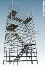 EN12810 Standard And SGS Certified Types of Scaffolding System ( Real Factory in Guangzhou)