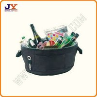 Fashion Multicolor Series wholesale bottle wine cooler tote bag picnic bag for family JY-CB2028