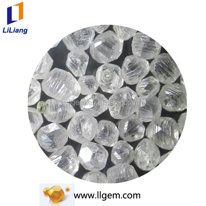 1-5mm large size synthetic diamond white diamond for sale