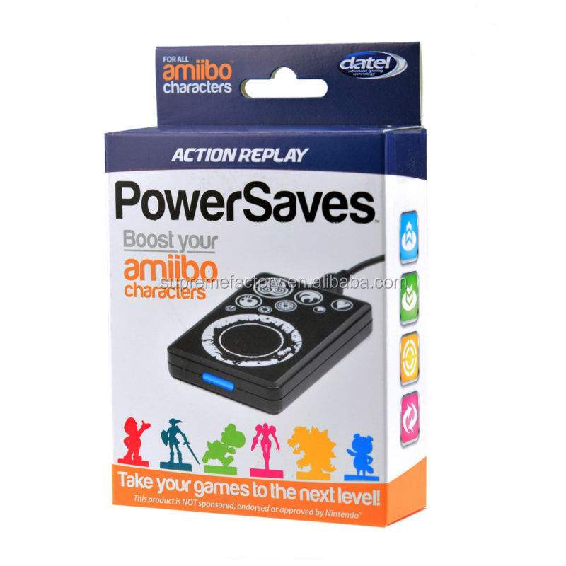 New Datel Action Replay Powersaves for Amiibo Character PAL Version