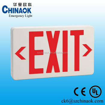 CK-200 UL CE emergency exit sign
