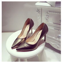 Pointy toe 9cm high heels c women pump shoes