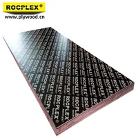 2017 Hot sale High Quality 18MM*1220MM*2440MM Rocplex film faced plywood