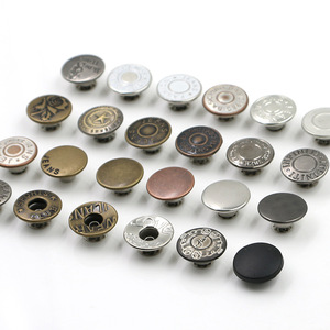 High quality metal fancy jeans buttons // metal pants buttons for garment accessories // BK-BUT482