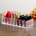 Acrylic Cosmetic Makeup Palette Display Stand, 8 Drawers Organizer