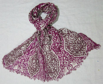 Printed Cotton Stoles for ladies