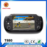 touch screen pap-k2 handheld video game console for ps1 n64 games player with NEOGEO 3D acrade games