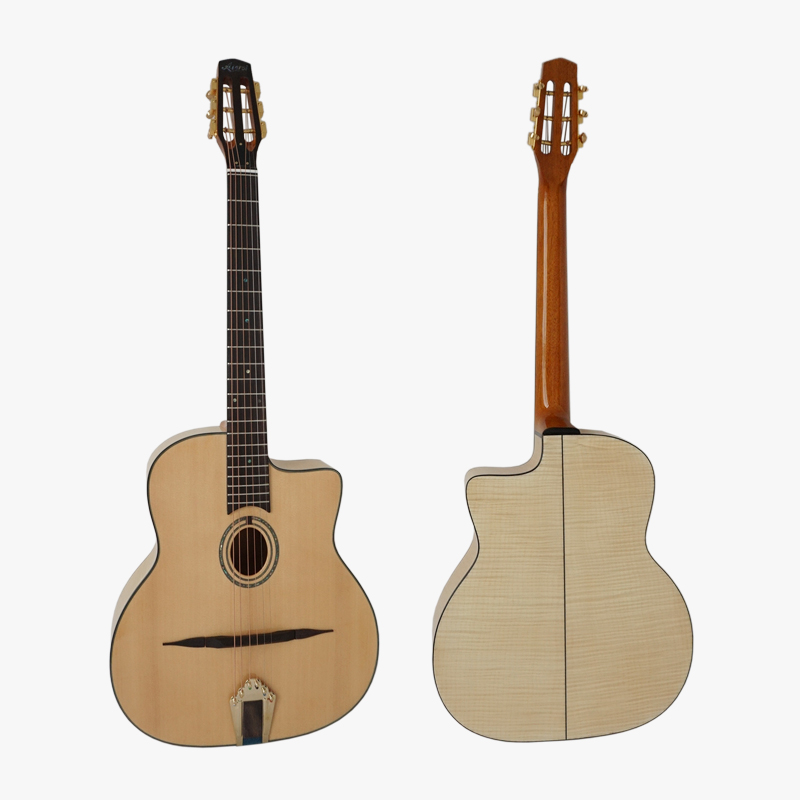 High quality cheap price 40 Inch gypsy jazz acoustic guitar