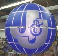 Inflatable advertising balloon giant round shape